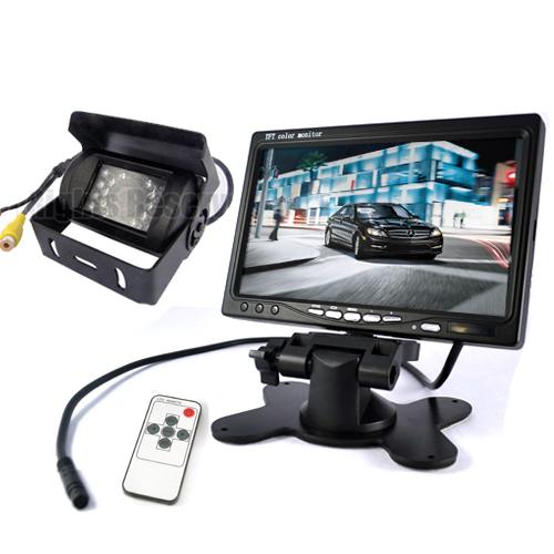 r ckfahrkamera mit 7 lcd monitor agrarparts. Black Bedroom Furniture Sets. Home Design Ideas